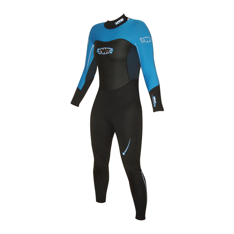 TWF Ladies Full Length Wetsuit Blue