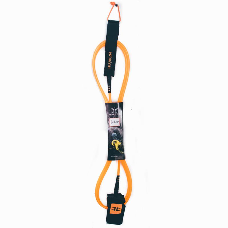 Hurricane 10ft / 8mm Leash | Orange