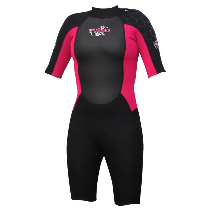 Turbo Women's Shortie Wetsuit (Pink)